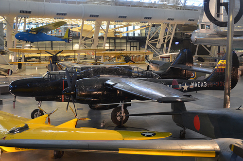 Steven F. Udvar-Hazy Center: Northrop P-61C Black Widow